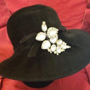 Frank Olive for Neiman Marcus Women's Black Hat